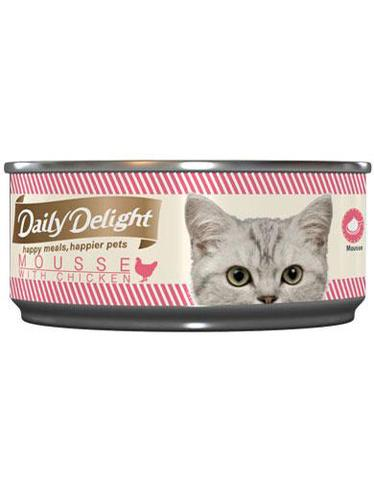 Mousse with Chicken Canned Cat Food