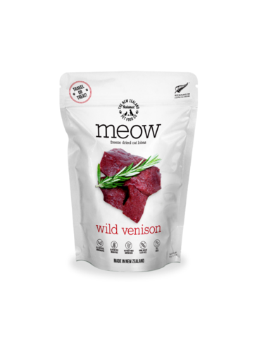 Raw Wild Venison Freeze Dried Cat Treats