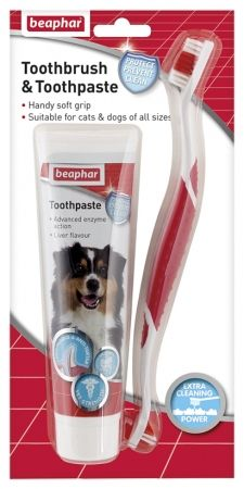 Beaphar Toothpaste Combipack for Dogs & Cats 100g