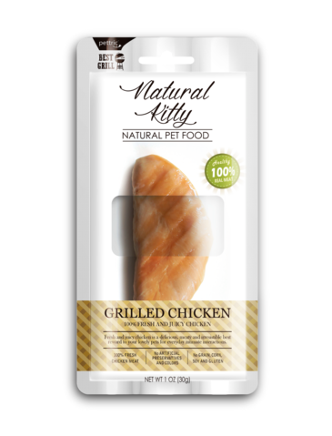 Natural Kitty Original Series Grilled Chicken Cat Treats 30g