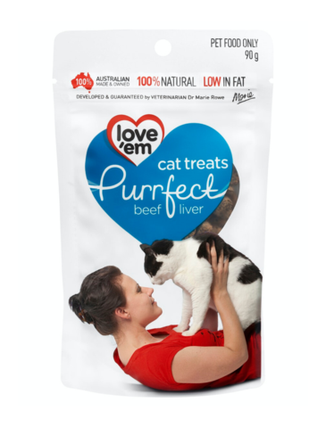 Purrfect Beef Liver Treats For Cats