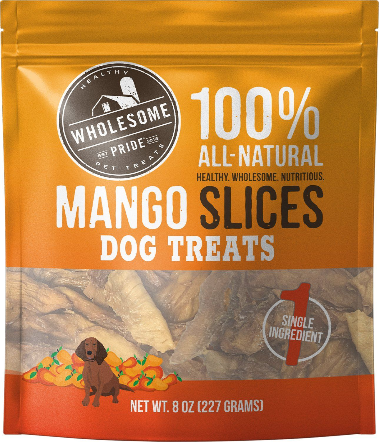 Mango Slices Dog Treat 8oz