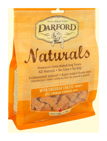 Naturals Cheddar Cheese Minis Dog Treats 400g