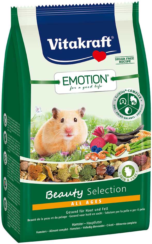 Emotion Beauty Selection Hamster