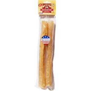 Pork Skin Retriever Sticks Dog Treats 2pcs