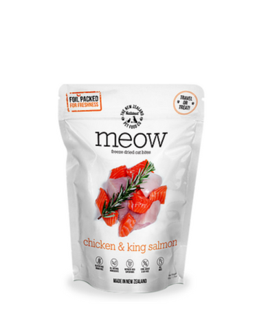 Chicken and King Salmon Freeze Dried Cat Treats