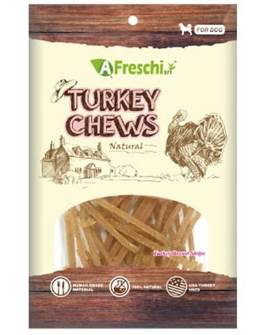Turkey Breast Stripe Dog Treat 115g