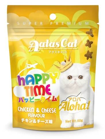 Happy Time Aloha Chicken and Cheese Treat