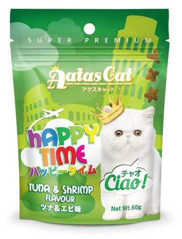 Happy Time Tuna and Shrimp Treat sample
