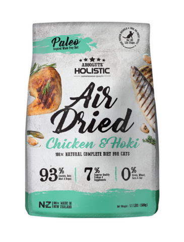 Absolute Holistic Air Dried Chicken & Hoki Cat Food