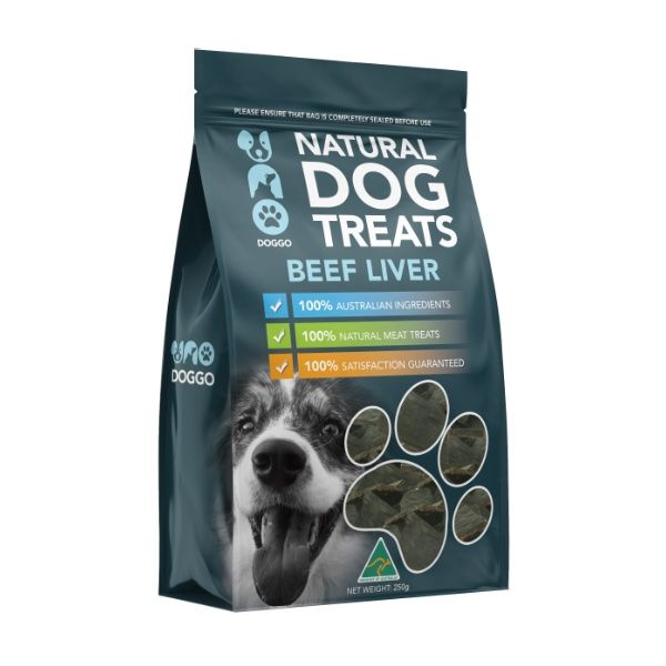 Beef Liver Natural Dog Treats 250g