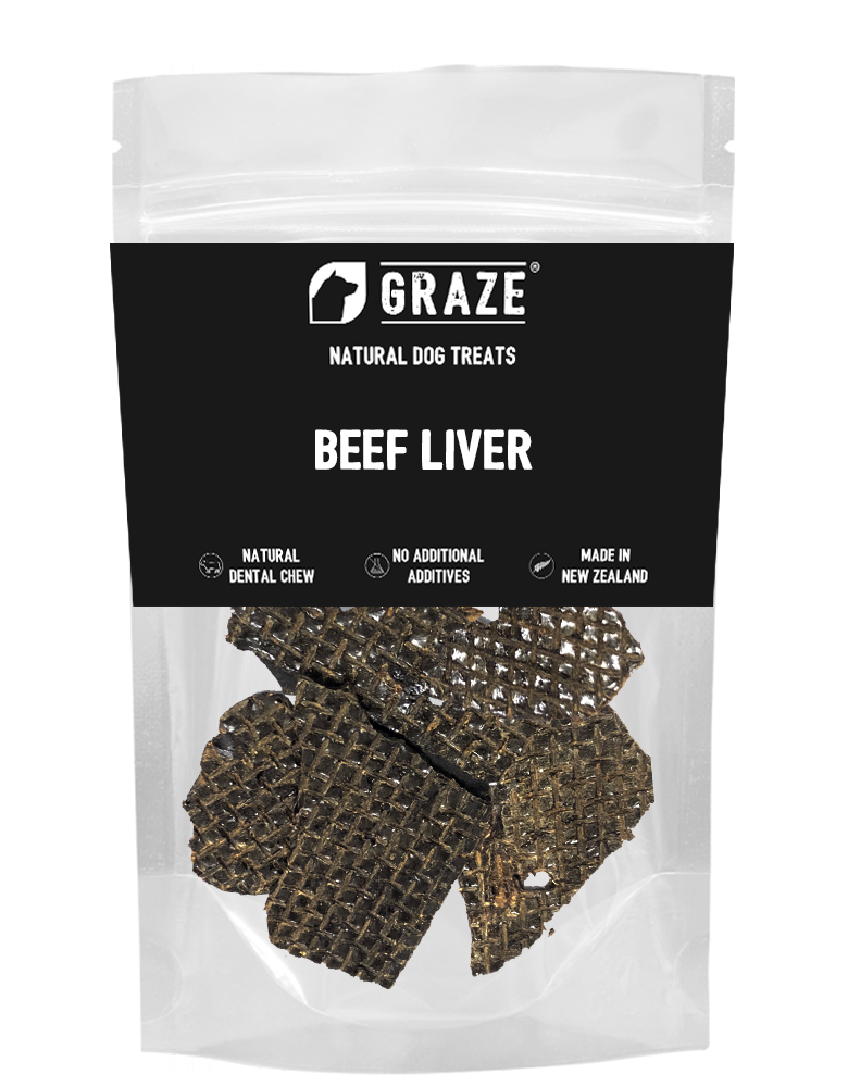 NZ Natural Beef Liver Strips Dog Treats 100g