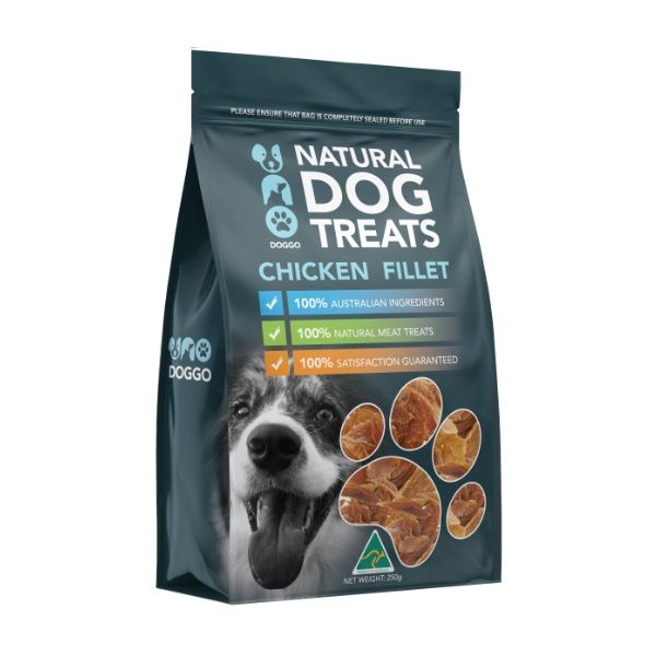 Chicken Fillet Natural Dog Treats 250g