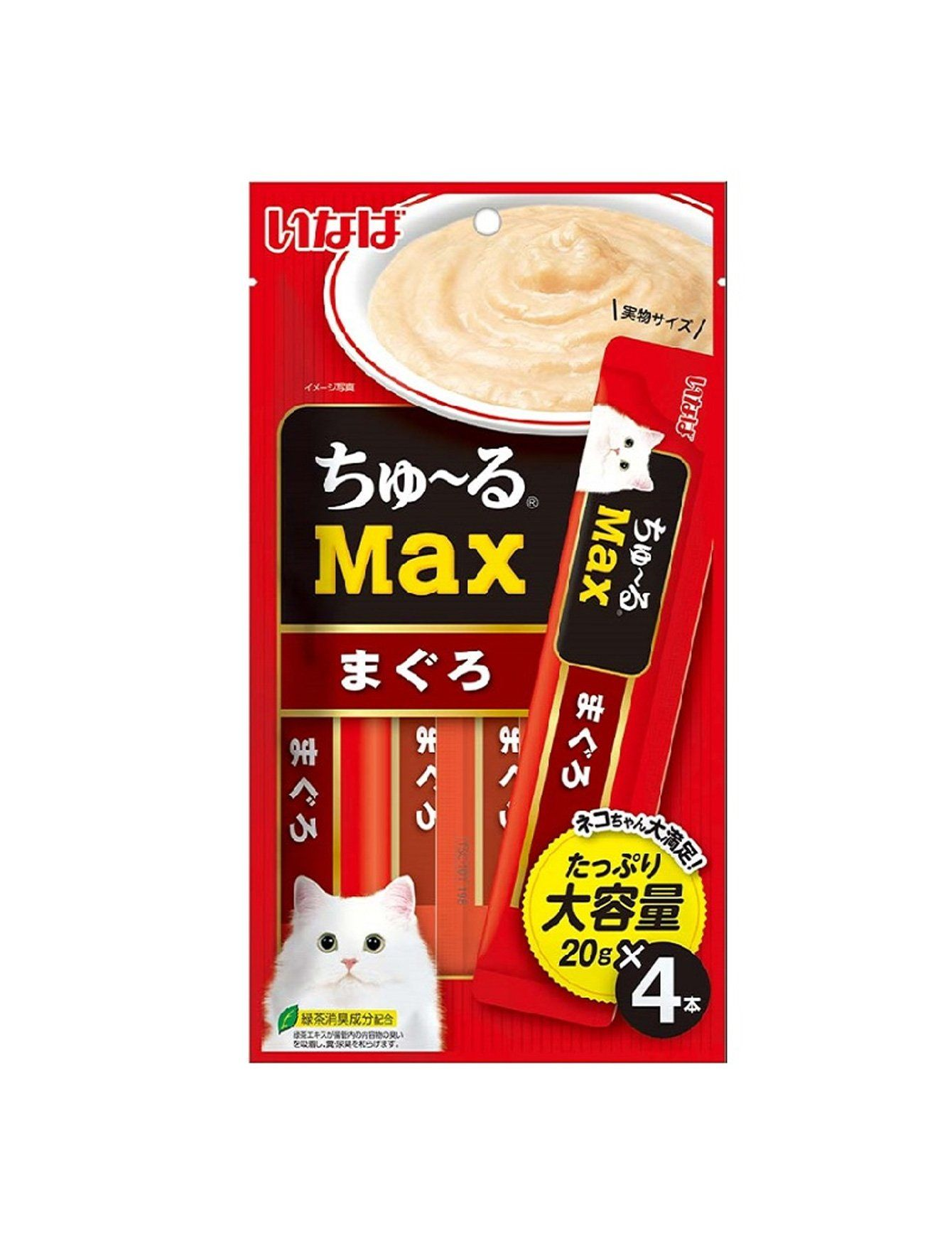 Chu Ru Max Maguro Cat Treats (4pc/pack)