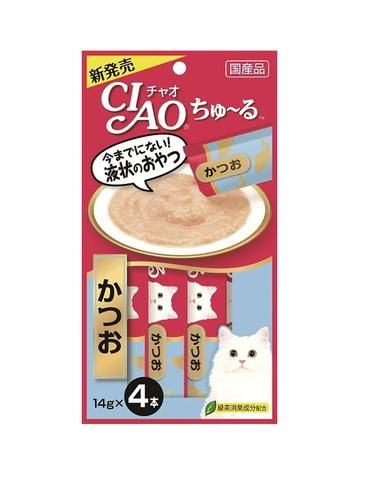 Chu Ru Tuna (Katsuo) Cat Treats (4pc/pack)