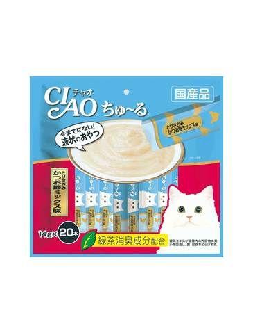 Churu Chicken Fillet & Sliced Bonito Cat Treat (20pc/pack)