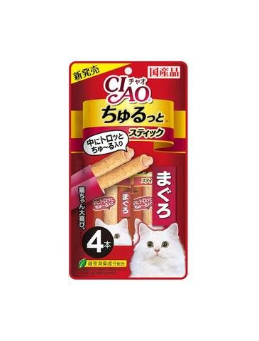 Churutto Maguro Cat Treat (4 pieces)