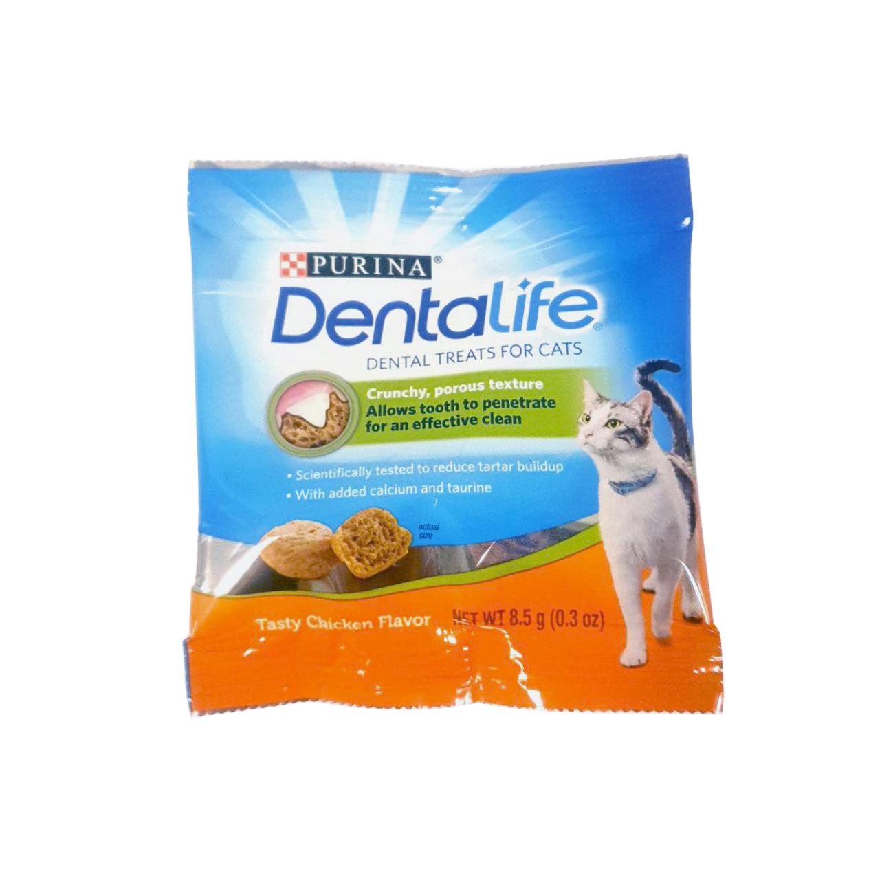 Dentalife Tasty Chicken Dental Cat Treat sample