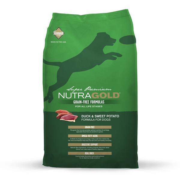 Grain Free Duck and Sweet Potato Dry Dog Food