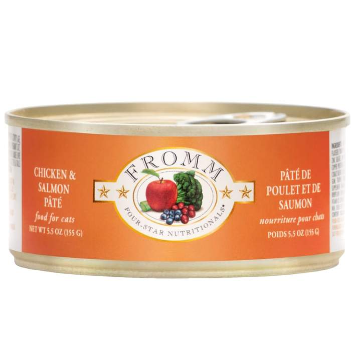 Fromm Chicken & Salmon Pate Canned Cat Food