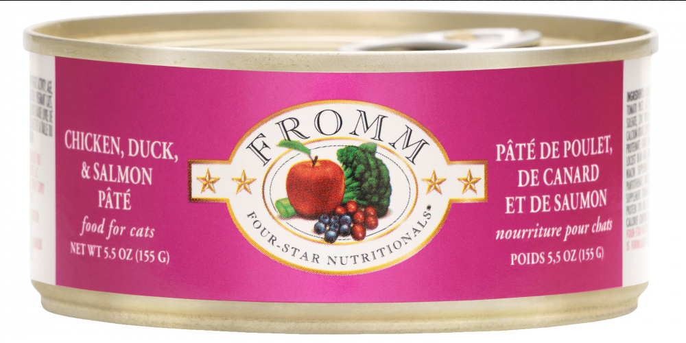 Fromm Chicken, Duck & Salmon Pate Canned Cat Food