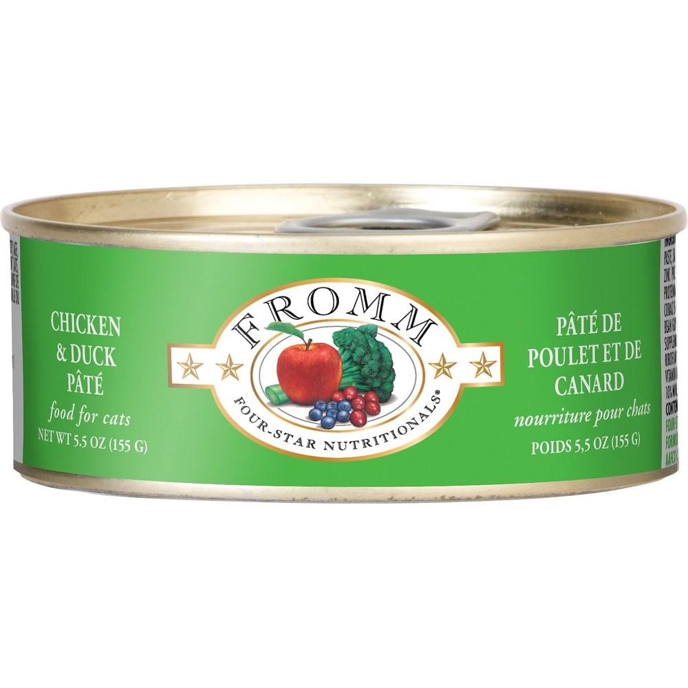 Fromm Duck & Chicken Pate Canned Cat Food