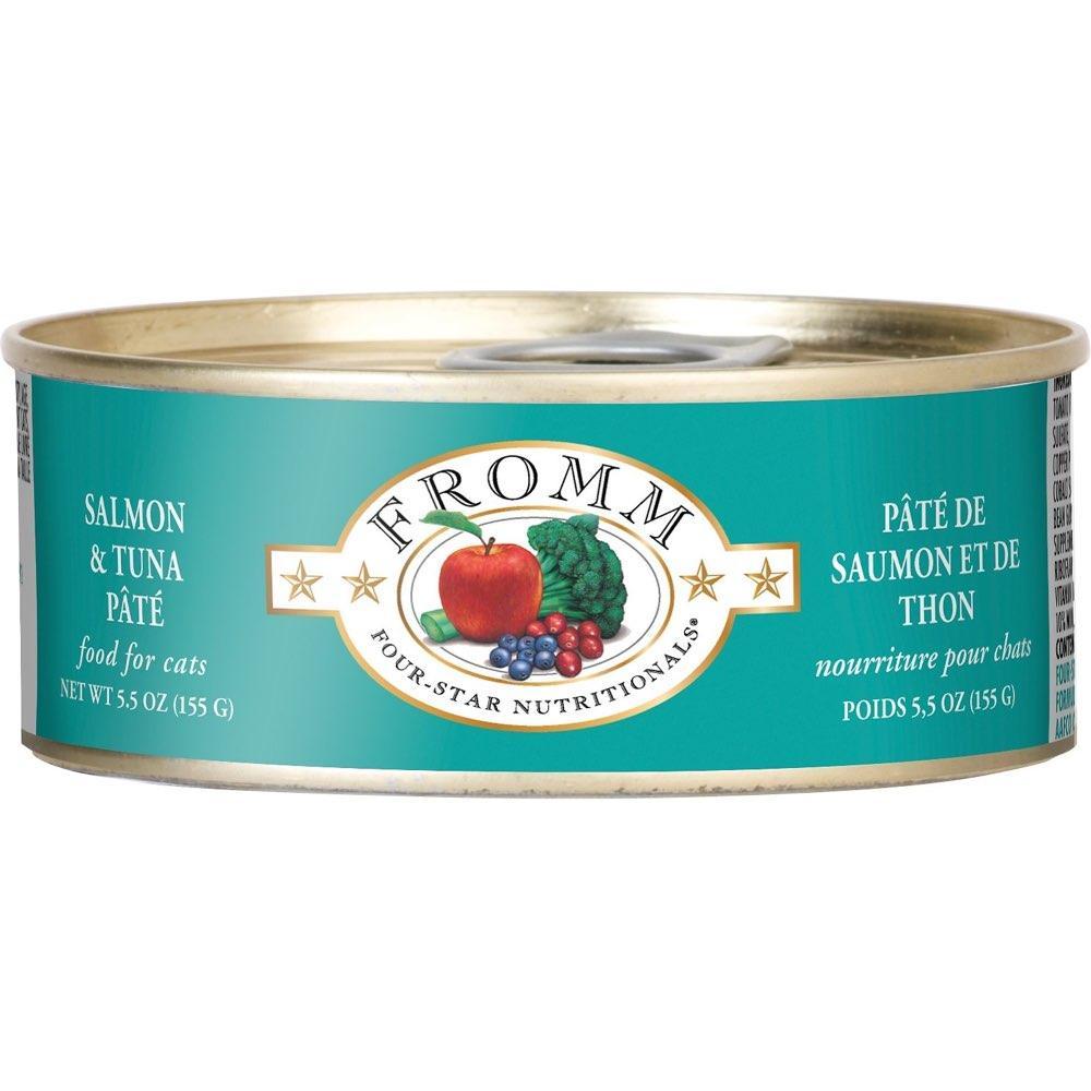 Salmon & Tuna Pate Canned Cat Food