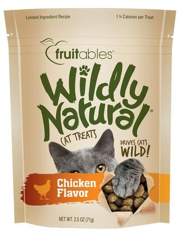 Wildly Natural Chicken Cat Treats