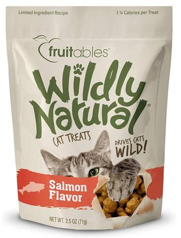 Wildly Natural Salmon Cat Treats