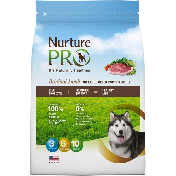 Original Lamb For Large Breed Puppy & Adult Dry Dog Food