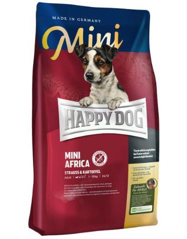 Happy Dog Supreme Mini Africa Ostrich and Potato Grain and Gluten Free Dog