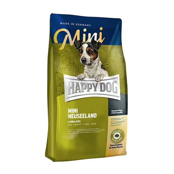 Happy Dog Supreme Mini Neuseeland Lamb & Rice Gluten Free Dog Dry Food