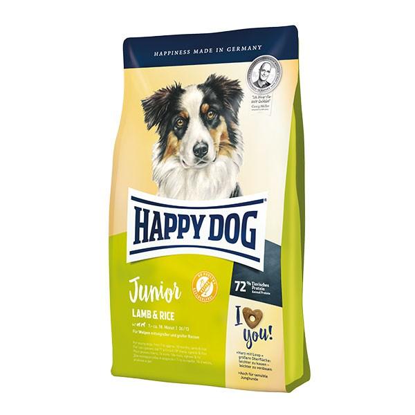 Happy Dog Supreme Young Junior Lamb & Rice Dog Food