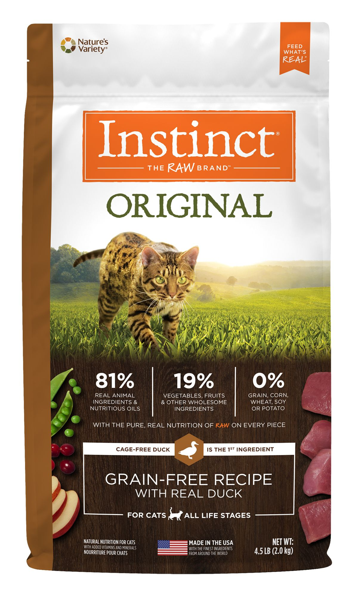 Instinct® Original Grain-Free Recipe with Real Duck
