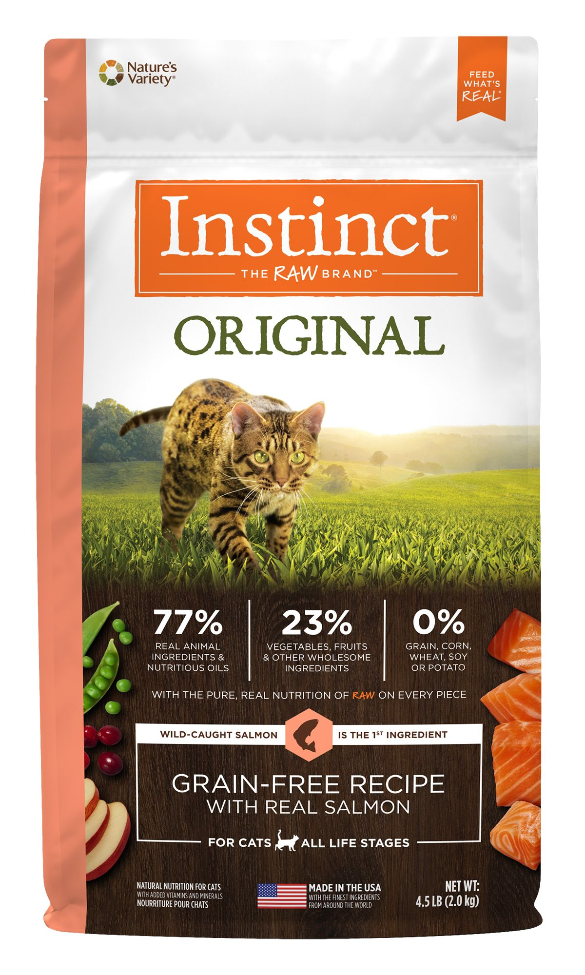 Instinct® Original Grain-Free Recipe with Real Salmon