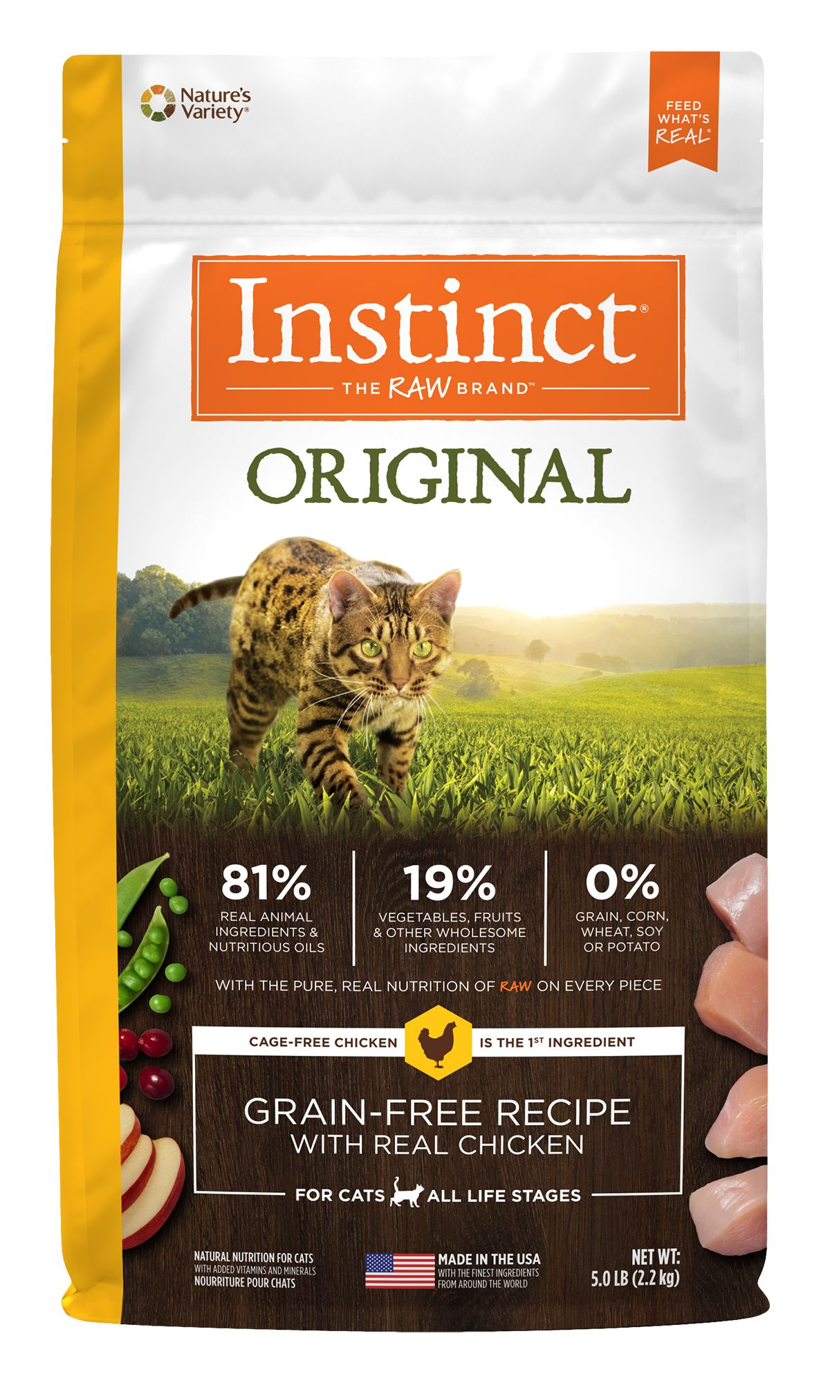 Instinct® Original Grain-Free Recipe with Real Chicken