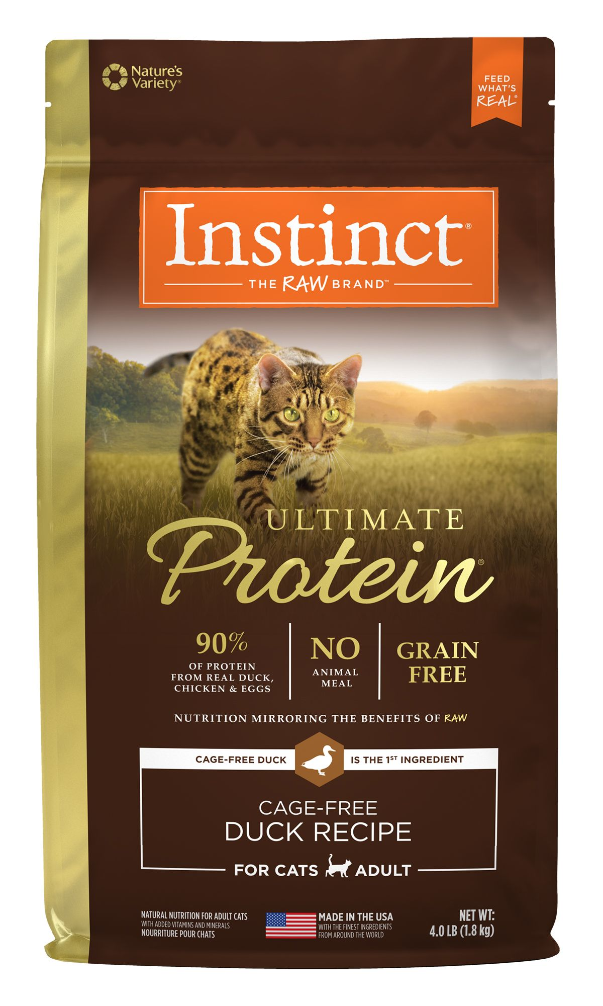 Instinct® Ultimate Protein® Grain-Free Cage-Free Duck Recipe
