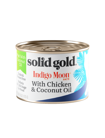 Solid Gold Indigo Moon Chicken and Coconut Oil