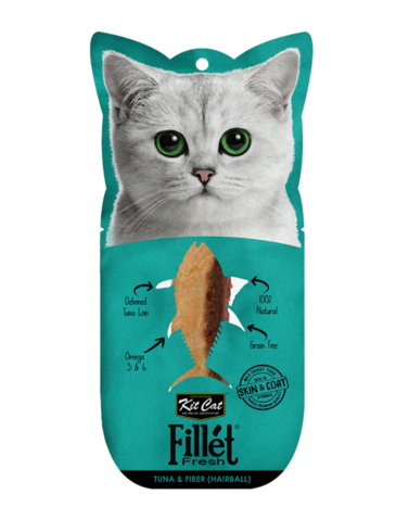 Fillet Fresh Tuna and Fiber (Hairball Control) Cat Treat