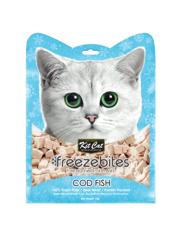 Freeze Bites Cod Fish Freeze Dried Cat Treats