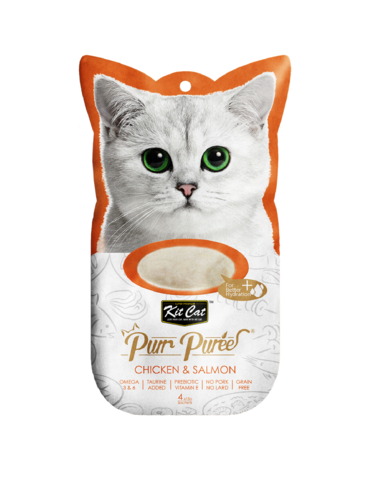 Purr Puree Chicken & Salmon Cat Treat