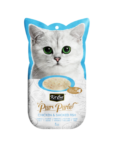 Purr Puree Chicken & Smoked Fish Cat Treat