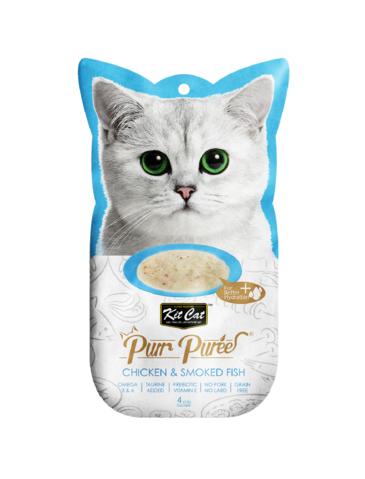 Purr Puree Chicken & Smoked Fish Cat Treat