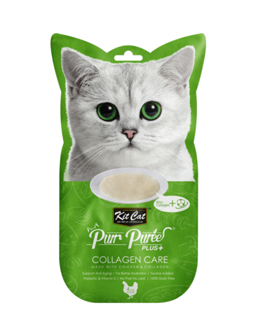 Purr Puree Plus+ Collagen Care (Chicken & Collagen)
