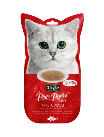 Purr Puree Plus+ Skin & Coat (Tuna & Fish Oil)