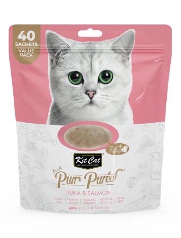 Purr Puree Tuna and Salmon Cat Treat