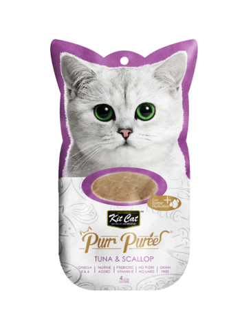 Purr Puree Tuna & Scallop Cat Treat