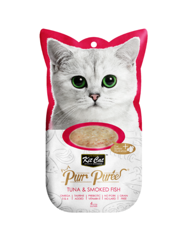 Purr Puree Tuna & Smoked Fish Cat Treat