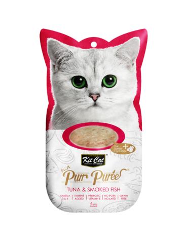 Purr Puree Tuna & Smoked Fish Cat Treat