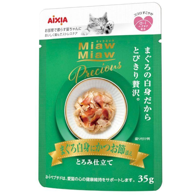 Miaw Miaw Precious - Tuna with Dried Skipjack Cat Treats Aixia